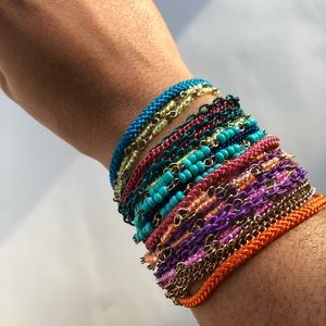 Multi-Layer Colorful Bracelet